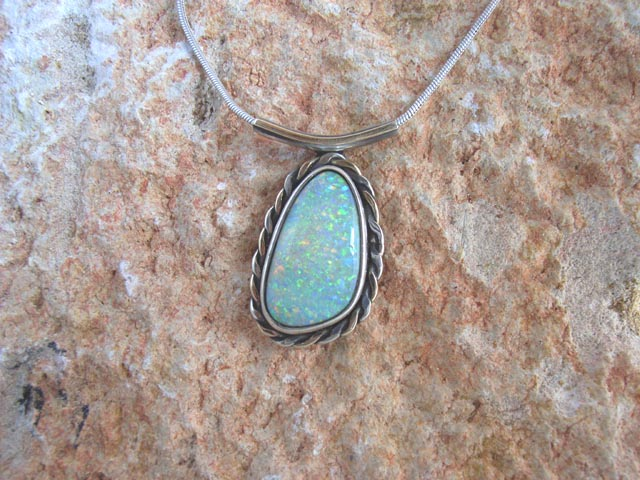 Beautiful Opal Necklace