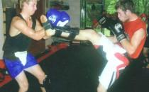 Students Kickboxing